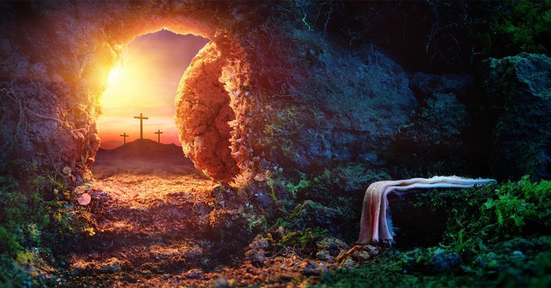 Resurrection of Jesus Christ by Romolo Tavani via Adobe Stock.