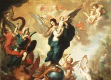 La Virgen del Apocalipsis, by Miguel Cabrera