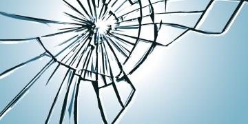 Broken glass by SantaPa design. Image via Adobe Stock