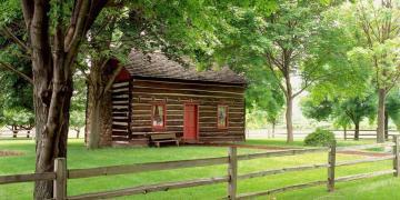 Whitmer Farm in Fayette, New York. Image via Church of Jesus Christ.